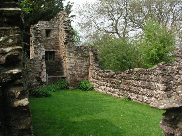 ruined Saxon church